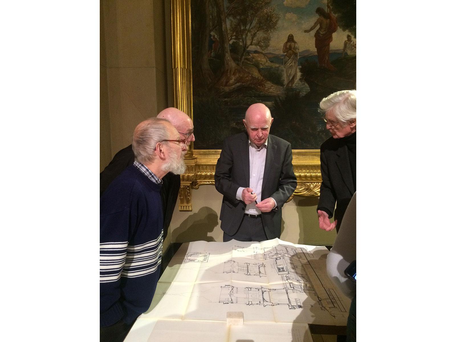 Bauliche Bestandsaufnahme des Berliner Doms 1964-65 – Gesprächsvortrag von Prof. Dr. Peter Prohl, 04.03.2020