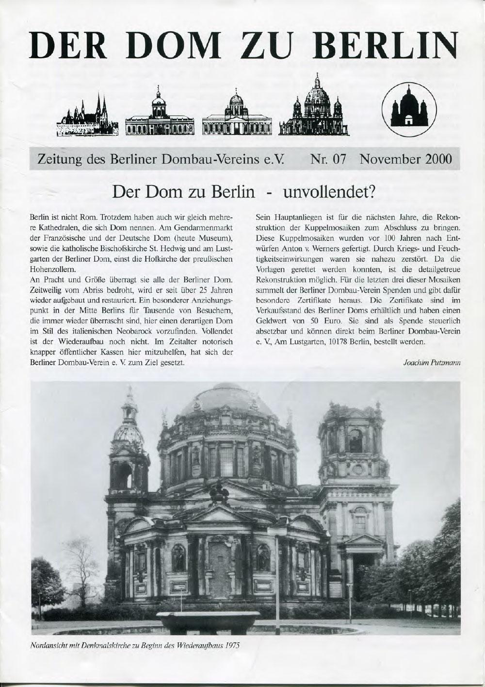 Dombau-Verein-Berlin Zeitung 07
