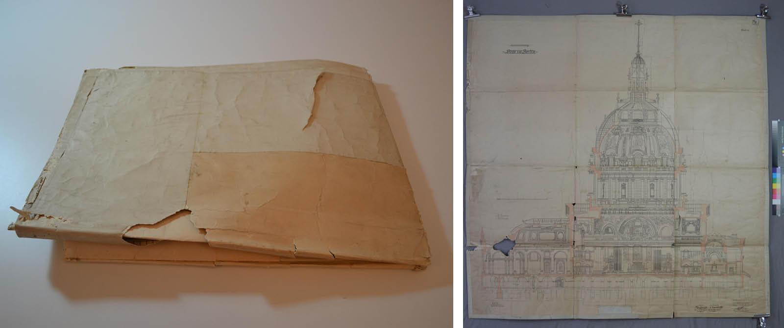 Entwurf von Julius Carl und Otto Raschdorff